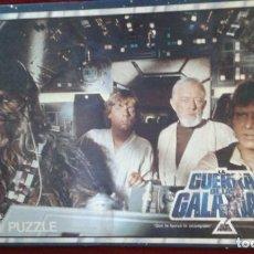Puzzles: PUZZLE LA GUERRA DE LAS GALAXIAS STAR WARS DE BORRAS 1977. COMPLETO. DIFICIL DE CONSEGUIR.. Lote 155712674
