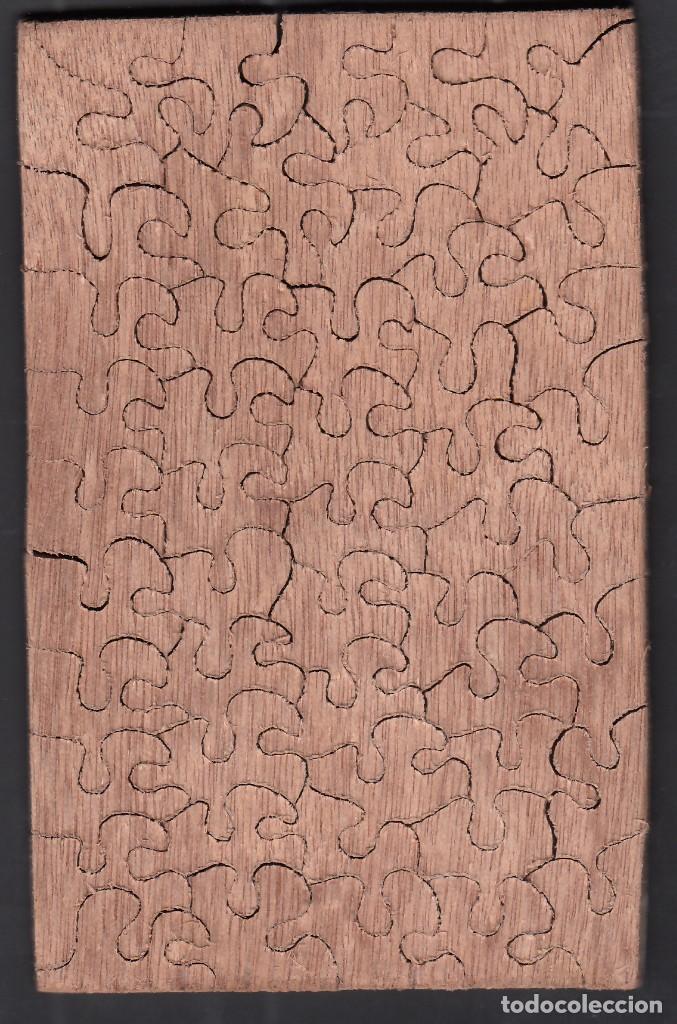 Puzzles: PUZLE COMPLETO DE PIEZAS DE MADERA FORMANDO EL CUADRO DE GOYA *LA VENDIMIA* AÑOS 20 - Foto 2 - 155855342