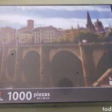 Puzzles: EDUCA PUZZLE LOGROÑO - 1000 - PRECINTADO - ARM01. Lote 155867384