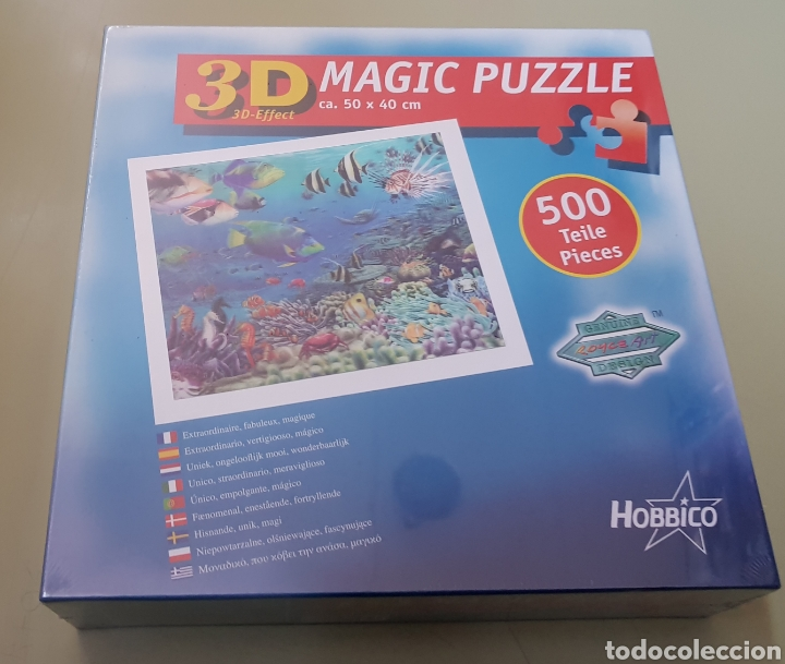 3D PUZZLE MAGIC HOBBICO - 500 - PRECINTADO - ARM01 (Juguetes - Juegos - Puzles)