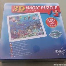 Puzzles: 3D PUZZLE MAGIC HOBBICO - 500 - PRECINTADO - ARM01. Lote 155868074