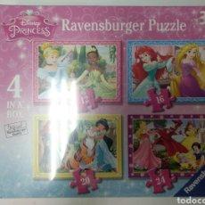 Puzzles: 4 PUZZLES RAVENSBURGER, 12 PCS, 16 PCS, 20 PCS, 24 PCS, 3 AÑOS. Lote 155903884