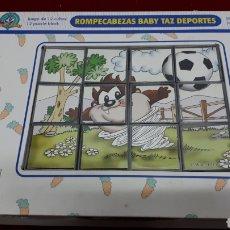 Puzzles: ROMPECABEZAS BABY TAZ DEPORTES -CEFA TOYS. Lote 155912834