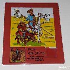 Puzzles: ANTIGUO PUZZLE ANDREFER S.A - INTER MUNDUS - SERIE DIBUJOS DON QUIJOTE DE LA MANCHA - AÑOS 70. Lote 155927442
