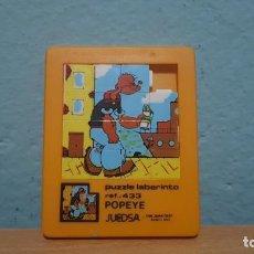 Puzzles: PUZZLE LABERINTO JUEDSA. POPEYE. REF. 433. Lote 156002842