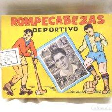 Puzzles: ROMPECABEZAS DEPORTIVO SERIE 1ª Nº 4 PORTERO RAMALLETS, ESPECIALIDADES GRAFICAS S.A. BCN. Lote 156923886