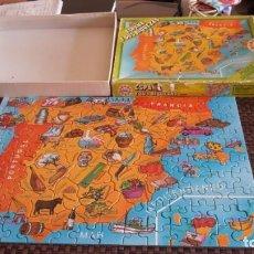 Puzzles: PUZZLE ESPAÑA Y SUS RIQUEZAS DE EDUCA. Lote 156985162
