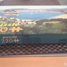 Puzzles: PUZZLE SAN SEBASTIÁN, PLAYA DE LA CONCHA 220 PIEZAS DE EDUCA. Lote 156987306