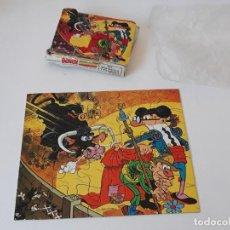 Puzzles: ANTIGUO PUZZLE REGALO PROMOCIONAL DE DETERGENTE BONUX Nº 1 - MORTADELO Y FILEMON - BRUGUERA AÑOS 70. Lote 156992278