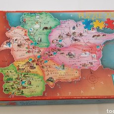 Puzzles: PUZZLE DEL MAPA DE ANDORRA 200 PIEZAS BANCA MORA 40 X 28. - ARM01. Lote 157292602