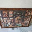 Puzzles: BONITO PUZZLE ENMARCADO,MOTIVO:PINTORES FAMOSOS DE LA HISTORIA. Lote 158135045