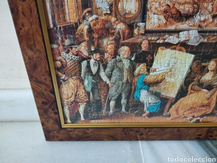 Puzzles: Bonito puzzle enmarcado,motivo:pintores famosos de la historia - Foto 3 - 158135045