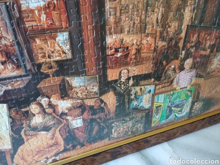 Puzzles: Bonito puzzle enmarcado,motivo:pintores famosos de la historia - Foto 4 - 158135045