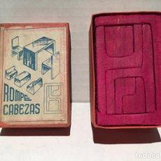 Puzzles: ANTIGUO JUEGO ROMPECABEZAS DE MADERA AÑOS 40/50. Lote 158489906