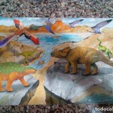 Puzzles: PUZZLE DINOSAURIOS PARA NIÑOS DE MAS DE 3 AÑOS. Lote 158809014