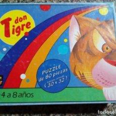 Puzzles: PUZZLE DON TIGRE PARA NIÑOS DE 4 A 8 AÑOS. Lote 158809470