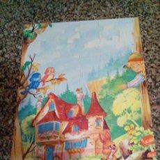 Puzzles: PUZZLE LA CASITA DE CHOCOLATE PARA NIÑOS DE 4 A 7 AÑOS. Lote 158809754