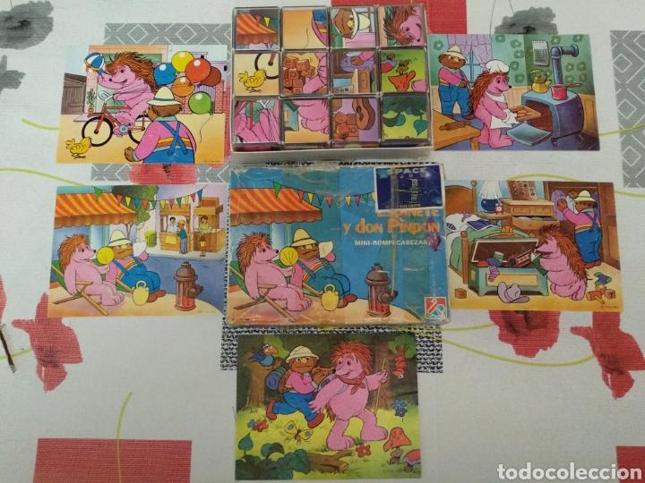 PUZZLE CUBOS VINTAGE (Juguetes - Juegos - Puzles)