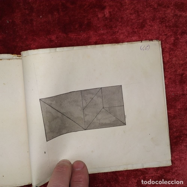 Puzzles: JUEGO DE LAS 7 PIEZAS O ROMPE-CABEZAS. ACUARELA. MANUSCRITO. ESPAÑA. FIN SIGLO XIX - Foto 17 - 159504382