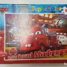 Puzzles: PUZZLE SUPERCOLOR CLEMENTONI: CARS, RESCUE SQUAD MATER DE 60 PIEZAS.. Lote 159518533