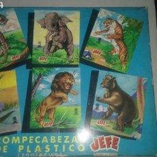 Puzzles: ROMPECABEZAS DE PLÁSTICO DE JEFE SALUDES.. Lote 160905388