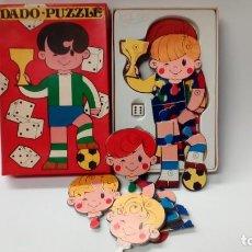 Puzzles: DADO PUZZLE-VECTOR. Lote 160979534