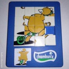 Puzzles: CIRCOJUEGOS CHAMBURCY PUZZLE LABERINTO. Lote 161517798