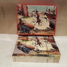 Puzzles: ANTIGUO ROMPECABEZAS PUZZLE DE CUBOS VERMIHE NUMERO 12 VER FOTOS. Lote 161924638