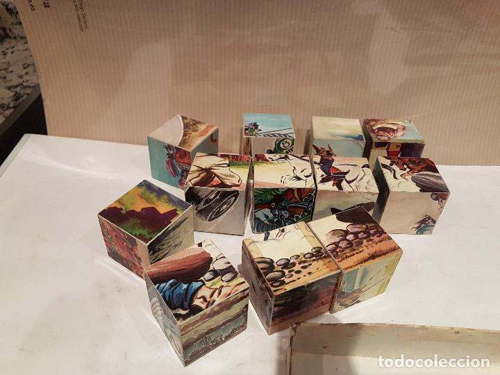 Puzzles: antiguo rompecabezas puzzle de cubos vermihe numero 12 ver fotos - Foto 7 - 161924638