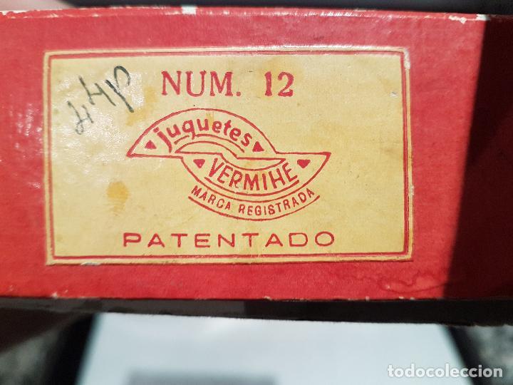 Puzzles: antiguo rompecabezas puzzle de cubos vermihe numero 12 ver fotos - Foto 9 - 161924638