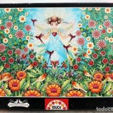 Puzzles: PUZZLE CATALINA ESTRADA. 1000 PIEZAS. TAMAÑO 68X48 CM. Lote 162446014