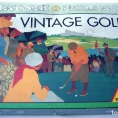 Puzzles: PUZZLE 1000 PIEZAS - VINTAGE GOLF. Lote 165132662