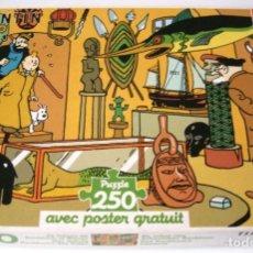 Puzzles: TINTIN PUZZLE - EL TESORO DE RACKHAM EL ROJO - 250 PIEZAS. Lote 165133370