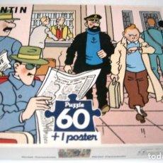 Puzzles: TINTIN PUZZLE - HOTEL CORNAVIN - 60 PIEZAS. Lote 165133442