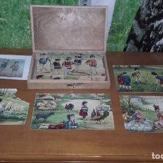 Puzzles: ANTIGUO PUZZLE O ROMPECABEZAS DE CUBOS. Lote 165185358