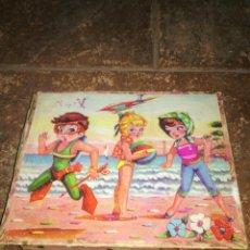 Puzzles: ANTIGUO ROMPECABEZAS DE CUBOS FALTA 1 CUBO. Lote 165892394