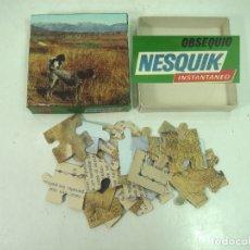 Puzzles: COMPLETO ¡¡ PUZLE OBSEQUIO NESQUIK - PERROS AÑOS 70 80 - PUZZLE INSTANTANEO 25 PZS-REGALO. Lote 166182310
