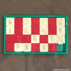 Puzzles: ROMPECABEZAS DE BOLSILLO ABECEDARIO PUZZLE AÑOS 60 ORIGINAL. Lote 186378477