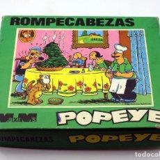 Puzzles: ROMPECABEZAS DE CUBOS DE POPEYE - MAXIM'S - MADE IN SPAIN - AÑOS 70. Lote 166940944