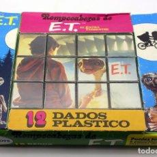 Puzzles: ET EL EXTRATERRESTRE - ROMPECABEZAS CUBOS DE PAPIROTS - AÑOS 80 - MADE IN SPAIN. Lote 167063848