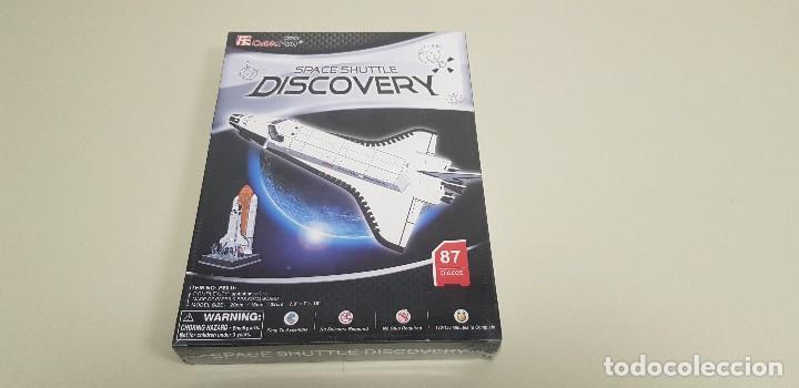 S9 -25% DTO EN TODA LA TIENDA VISITALA PUZZLE 3D DISCOVERY SPACE SHUTTLE CUBIC FUN NUEVO PRECINTADO (Juguetes - Juegos - Puzles)