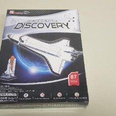 Puzzles: S9 -25% DTO EN TODA LA TIENDA VISITALA PUZZLE 3D DISCOVERY SPACE SHUTTLE CUBIC FUN NUEVO PRECINTADO. Lote 218477951