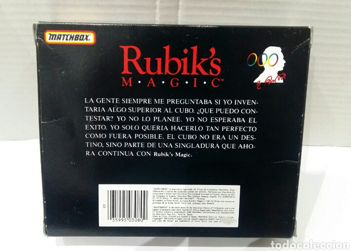 Puzzles: RUBIK'S MAGIC MATCHBOX.NUEVO EN CAJA.1986.UN RETO DIFÍCIL DE RESOLVER.RUBIK.ENCADENE ANILLOS.RUBIKS. - Foto 4 - 167622586
