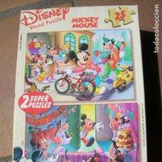 Puzzles: CAJA DE DISNEY 2 PUZZLES DE 25 PIEZAS VER FOTOS. Lote 168163216