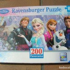 Puzzles: PUZZLE DE FROZEN DE 200 PIEZAS. Lote 168163360