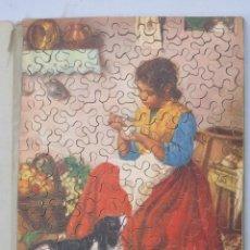 Puzzles: PUZZLE DE MADERA LITOGRAFIADO. AÑOS 20-30. Lote 168221016