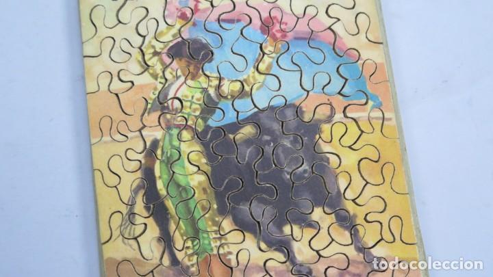 Puzzles: PUZZLE DE MADERA LITOGRAFIADO. TAURINO. AÑOS 20-30 - Foto 2 - 168221256