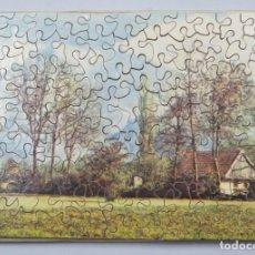 Puzzles: PUZZLE DE MADERA LITOGRAFIADO. PAISAJE. AÑOS 20-30. Lote 168221580