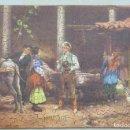 Puzzles: PUZZLE DE MADERA LITOGRAFIADO. ESCENA COSTUMBRISTA. AÑOS 20-30. Lote 168221792