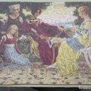 Puzzles: PUZZLE DE MADERA LITOGRAFIADO. ESCENA RENACENTISTA. AÑOS 20-30. Lote 168221832